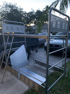 Bombay Kids 1888959 K-X-Metal Locker Loft Bunk Bed for Sale in Land O Lakes, FL
