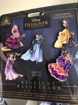 Disney Designer Midnight Masquerade Pin set for Sale in La Mesa, CA