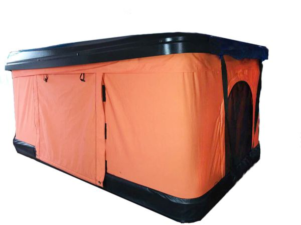 ORANGE Pop Up Roof Tent Universal for Cars Trucks SUVs Camping Travel Mobile