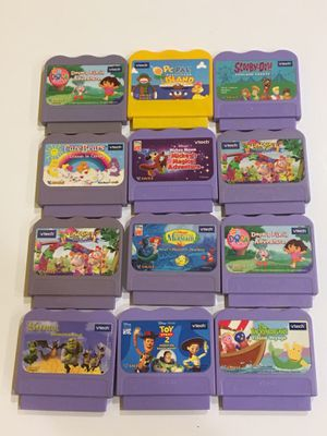 Vtech V.Smile Cartridge Kids Video Games Lot of 12 Games for Sale in Las Vegas, NV