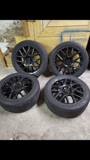 17 inch rims with tires for Sale in Philadelphia, PA