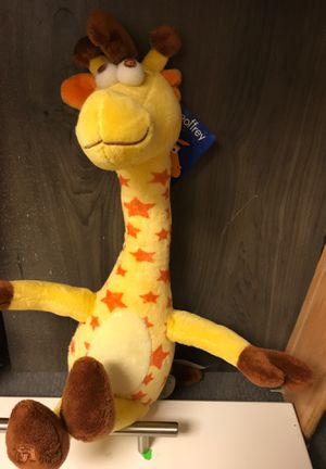 Geoffrey the giraffe Toys R us plush stuffed animal doll with tag for Sale in Euless, TX