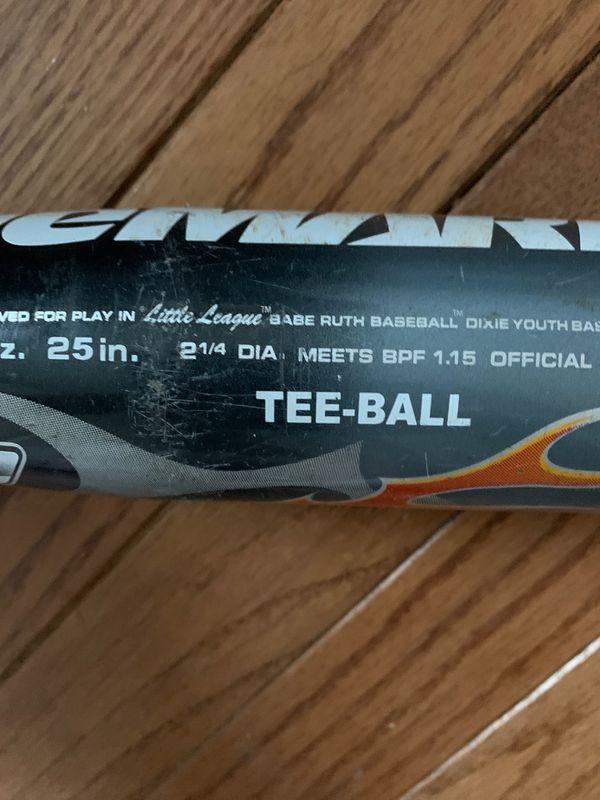 Demarini tee ball baseball bat size 25