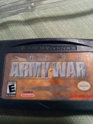 Nintendo Super Army War Gameboy video game for Sale in Ypsilanti, MI
