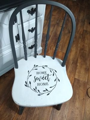Cute painted chair for Sale in Hubbard, OR