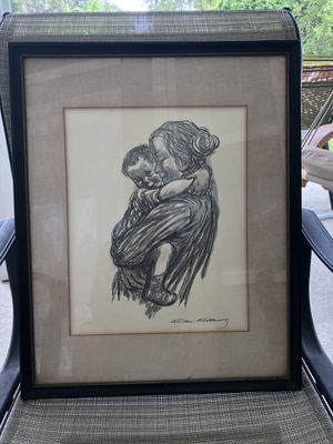 Vintage Kathe-Kollwitz print for Sale in FL, US