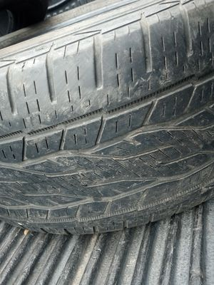 275/55r20 continental tire for Sale in San Antonio, TX