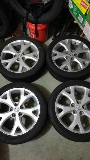 Wheels and tires with TMPS, balanced for Sale in Hyattsville, MD