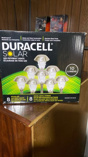 Duracell Solar lights for Sale in Johnston, RI