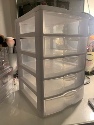 Plastic Drawer/ organizer for Sale in Los Angeles, CA