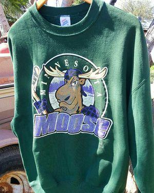 Vintage Minnesota Moose Hockey Crewneck for Sale in Phoenix, AZ