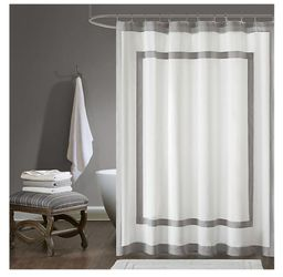 72-Inch x 72-Inch Shower Curtain in Grey for Sale in Cape Coral,  FL