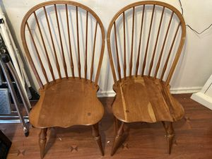 Wooden chairs for Sale in Hartsdale, NY