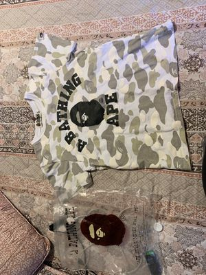 Abathing bape size real 100% for Sale in Tampa, FL