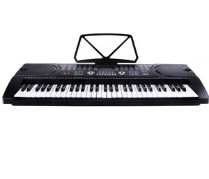Electric Digital Piano Organ Music Keyboards 61 Keys Microphone Black New for Sale in Los Angeles, CA