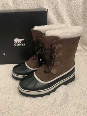 Sorel men snow/rain boots size: 9 for Sale in San Bernardino, CA
