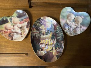Precious Moments limited edition numbered plates for Sale in Rio Vista, CA