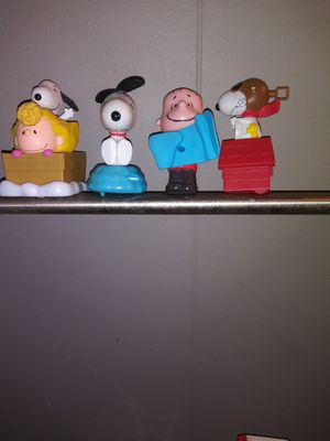 Collectible Charlie Brown Toys for Sale in Fort Worth, TX