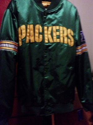 Packers vintage starter Varsity jacket xl fits if you well if you wear m, l, xl for Sale for sale  Bronx, NY