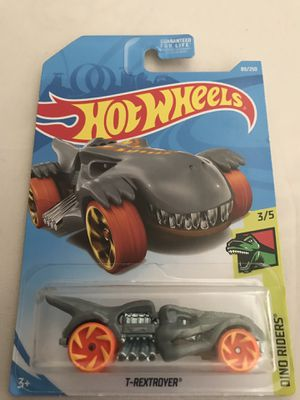 Rare Hot Wheels T-Rex Car for Sale, used for sale  Commerce, CA