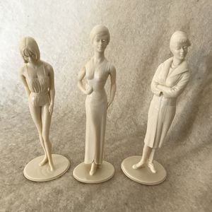 Lot of 3 Marx Campus Cuties Plastic Figures for Sale in Anchorage, AK