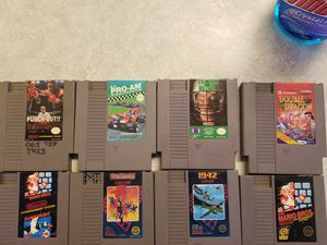 Nintendo and Super Nintendo game lot for sale. for Sale in Pflugerville, TX