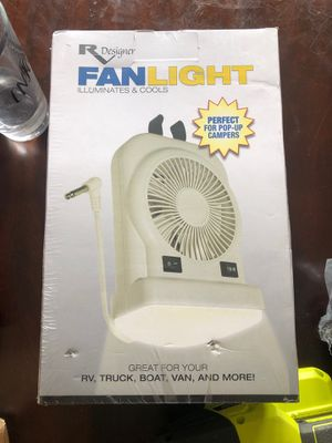 Portable Small Fan light for RV, truck, boat, Van for Sale in CHAMPIONS GT, FL