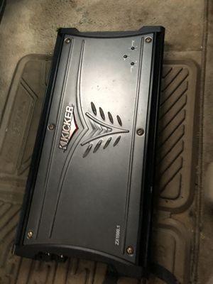 3000 watts kicker 1500 RMS for Sale in Boston, MA