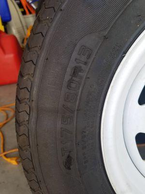 Trailer spare tire for Sale in Las Vegas, NV