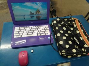 HP stream with cordless mouse and travel bag for Sale in Middletown, CT