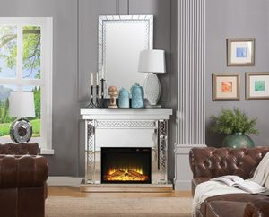 Living Room Fireplace & Accent Mirror for Sale in The Bronx, NY