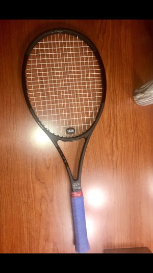 Roger Feder Tennis Racket! Grip size 4 1/2 for Sale in Houston, TX
