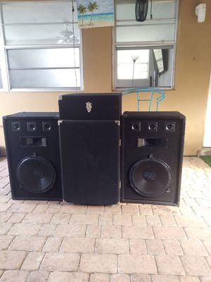 Dj set ,equipment for Sale in Miami, FL