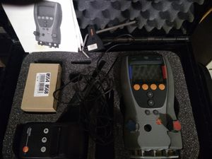Testo electronic refrigerant gauges and accessories for Sale in Glendale, AZ