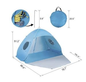 Beach tent (like new used once only) for Sale in San Antonio, TX