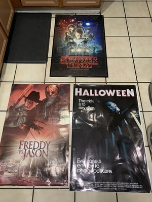 Horror posters for Sale in Fontana, CA