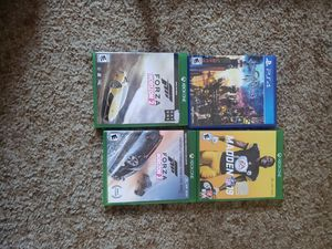 KH3, Madden 19, Forza Horizon 2&3, $20 each for Sale in San Diego, CA