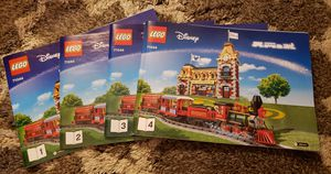 Lego Disney Train 71044 Instruction Manuel's, Authentic, Brand New never used all 4 booklets in packaging full read description for Sale in Wellington, FL