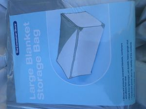 Large Blanket Storage Bag - The Container Store - 3 for $10 for Sale in Victorville, CA