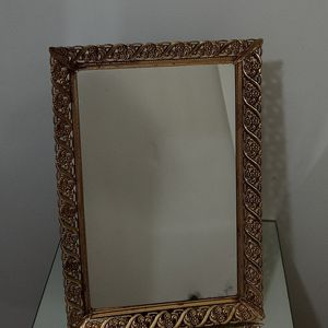 """Art Deco Style Vintage 1960's Gold Feligree Mirrored VanityTray 16""""×11"""" for Sale in Chicago, IL"""
