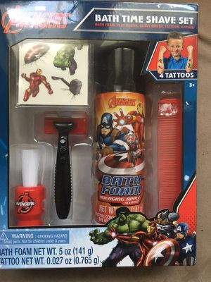 Avengers bath shave set *NEW* for Sale in Dallas, TX
