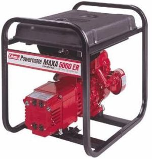 Coleman Powermate 5000 ER 10hp Generator for Sale in Mitchell, IL