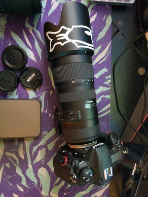 Nikon d500 setup for Sale in Tacoma, WA