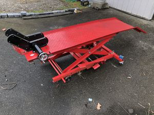 Motorcycle lift table for Sale in Graham, WA