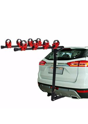 Camping Bike Rack Auto Hitch Mount 4 Bicycle Car SUV Truck Carrier Hot for Sale in Lawndale, CA