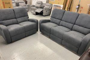 Furniture mattress- 🔥🔥sofa + loveseat recliner 🔥🔥 for Sale in North Highlands, CA