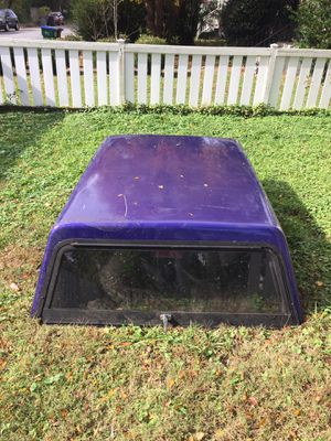 6 foot universal camper shell for Sale in North Chesterfield, VA