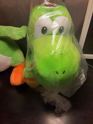 big yoshi plushie for Sale in Sunnyvale, CA