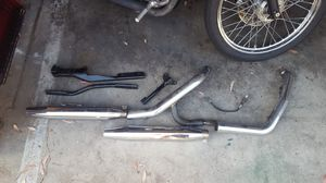 Stock 06.5 dyna exhaust for Sale in Fountain Valley, CA