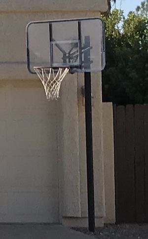 Basketball Hoop (In Ground) Removed and ready for pickup! for Sale in Chandler, AZ